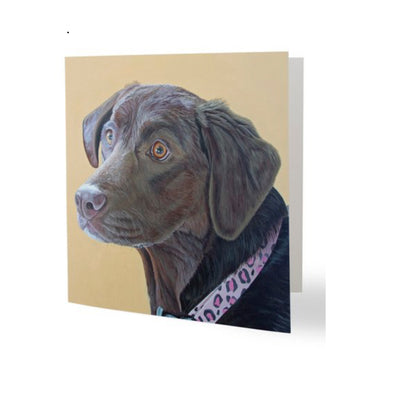 Sun-Kissed Abby Greeting Card