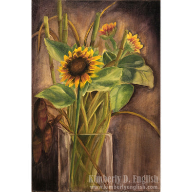 Sunflowers Print