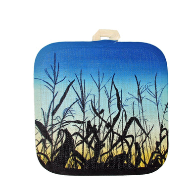 Sunset Corn Pot Holder