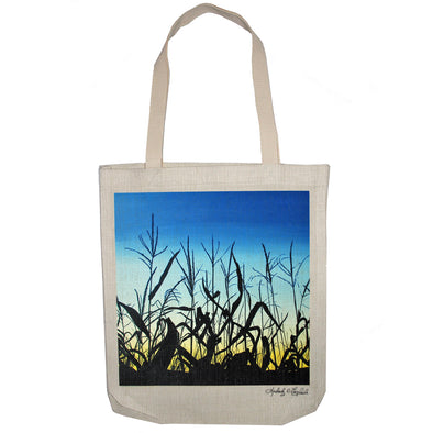 Sunset Corn Tote Bag