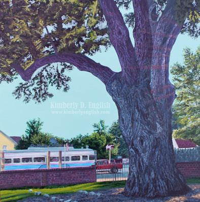The Salem Oak Print