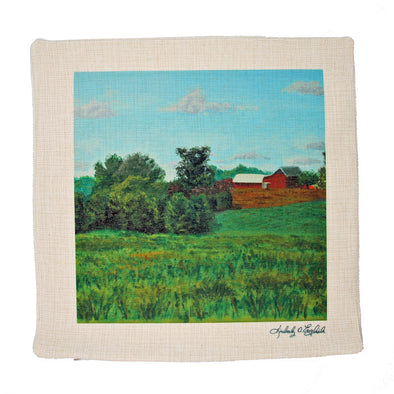 View from Woodstown-Daretown Road Pillow Sham
