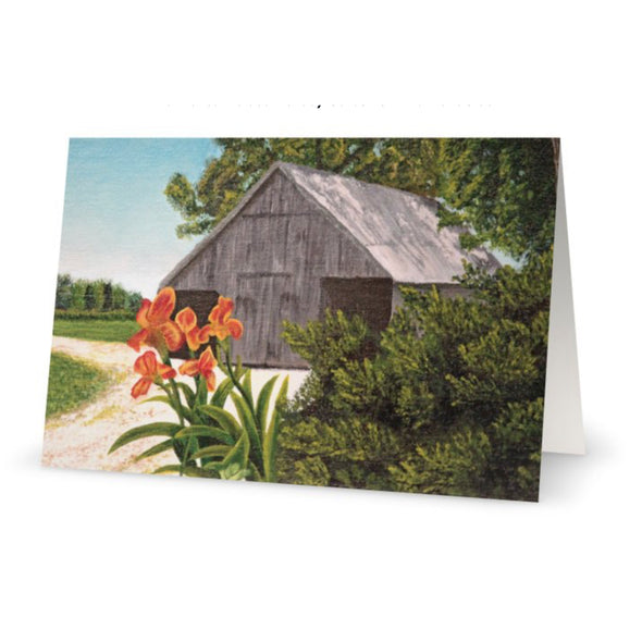 Watson's Mill Road Greeting Card