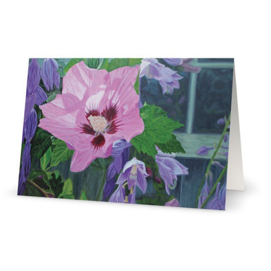 Watson's Mill in Bloom Greeting Card