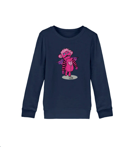 Monsterchen Kinder Sweatshirt aus Bio-Baumwolle