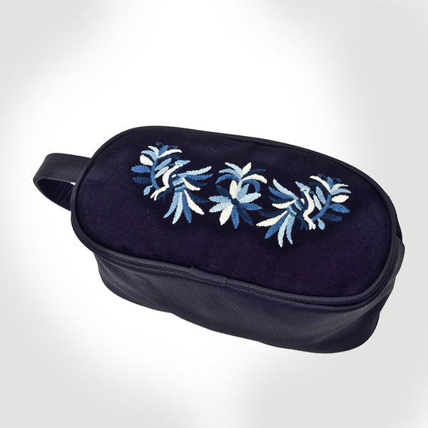 BLUE COSMETIC BAGS