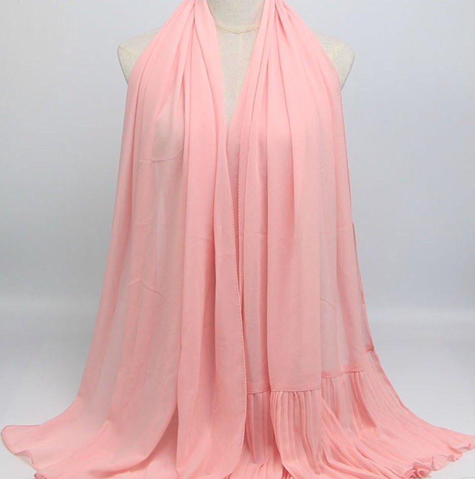 Hijab - Plain Dusty Pink