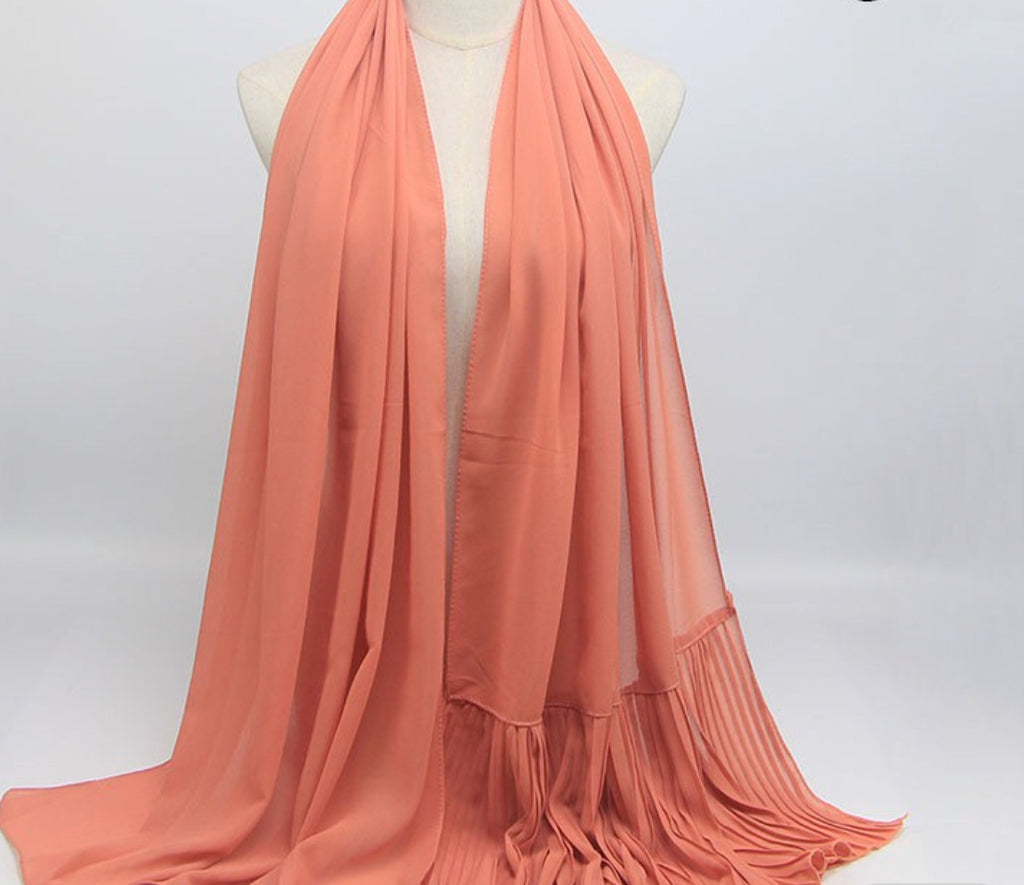 Hijab - Plain Salmon