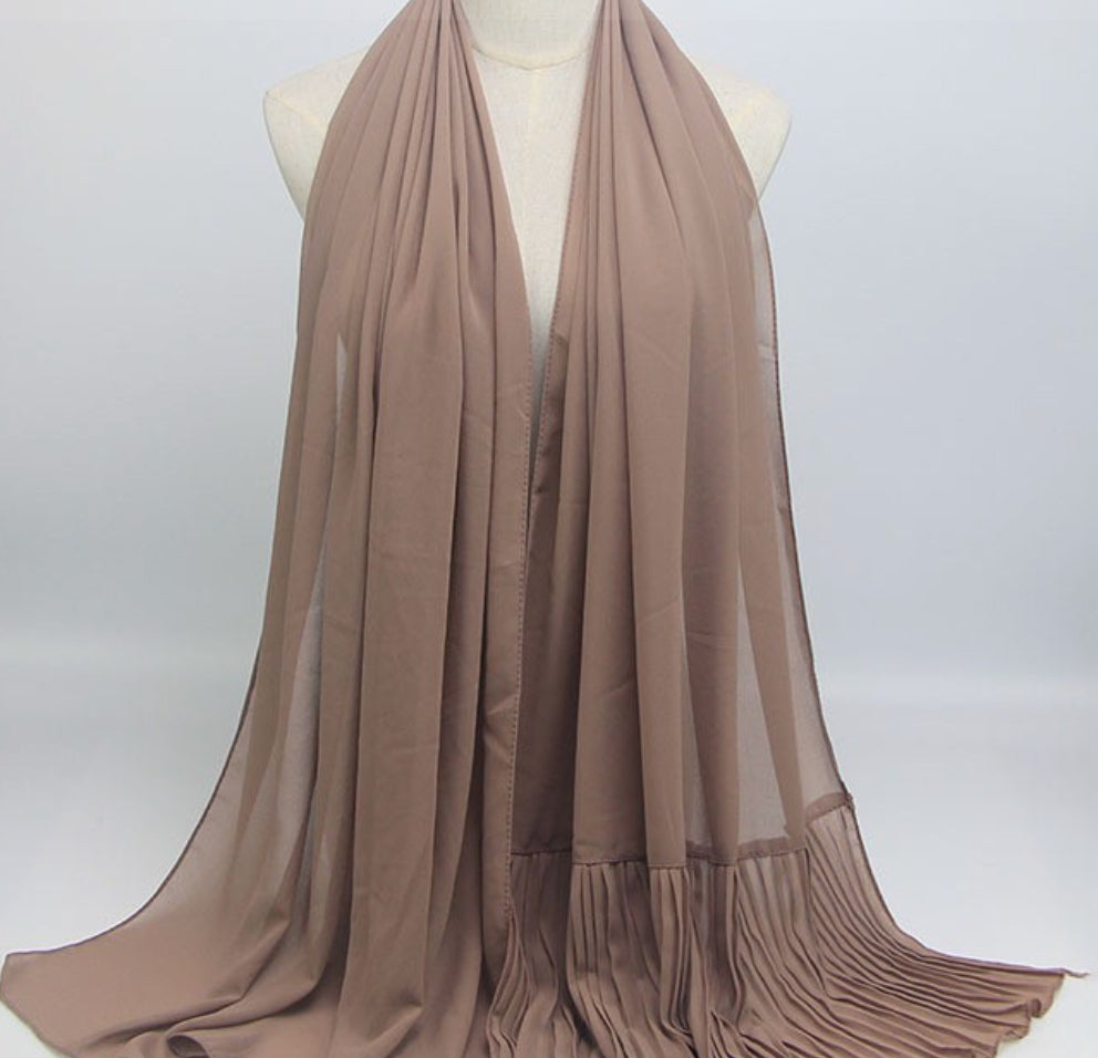 Hijab - Plain Tan