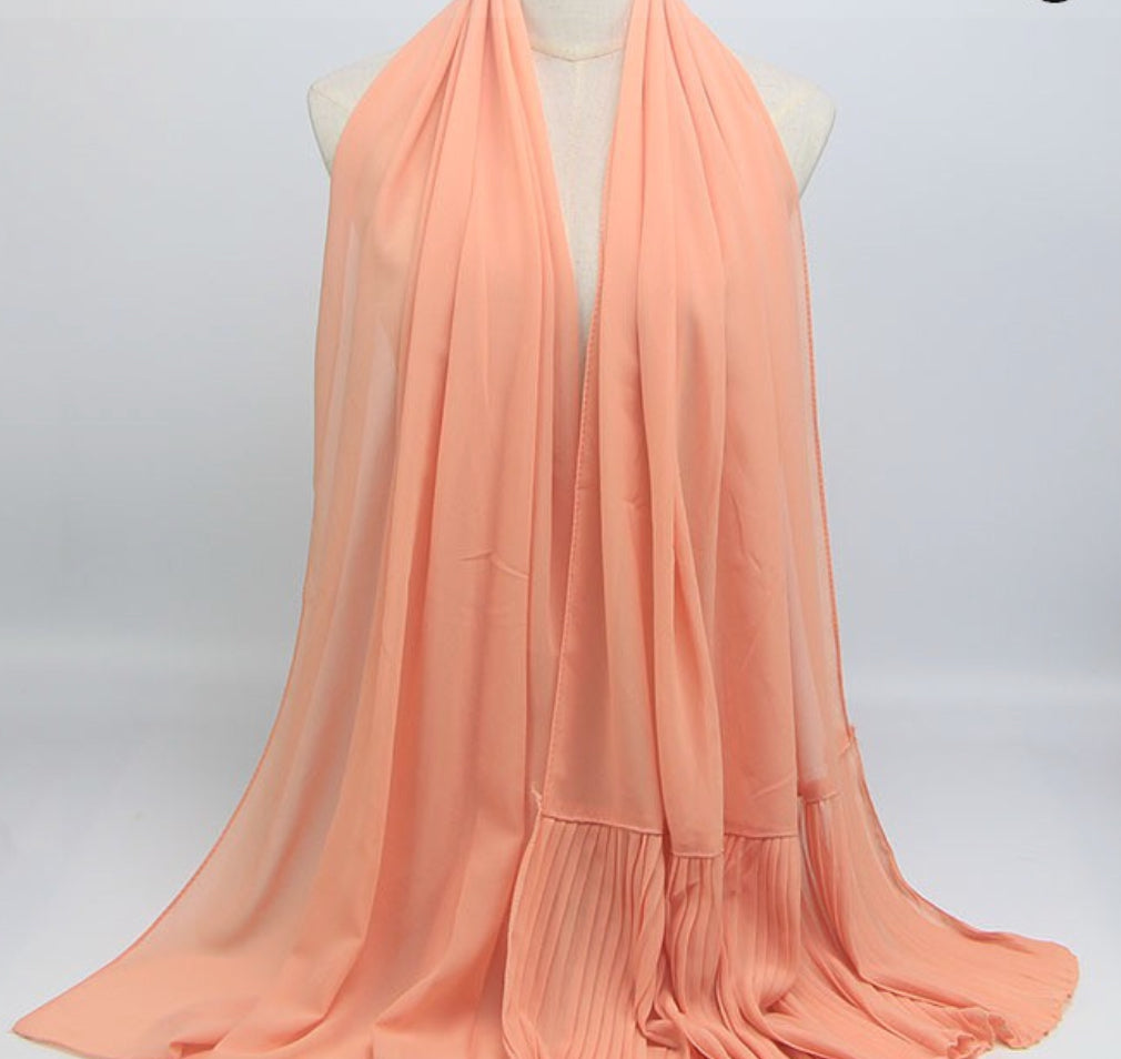 Hijab - Plain Peach