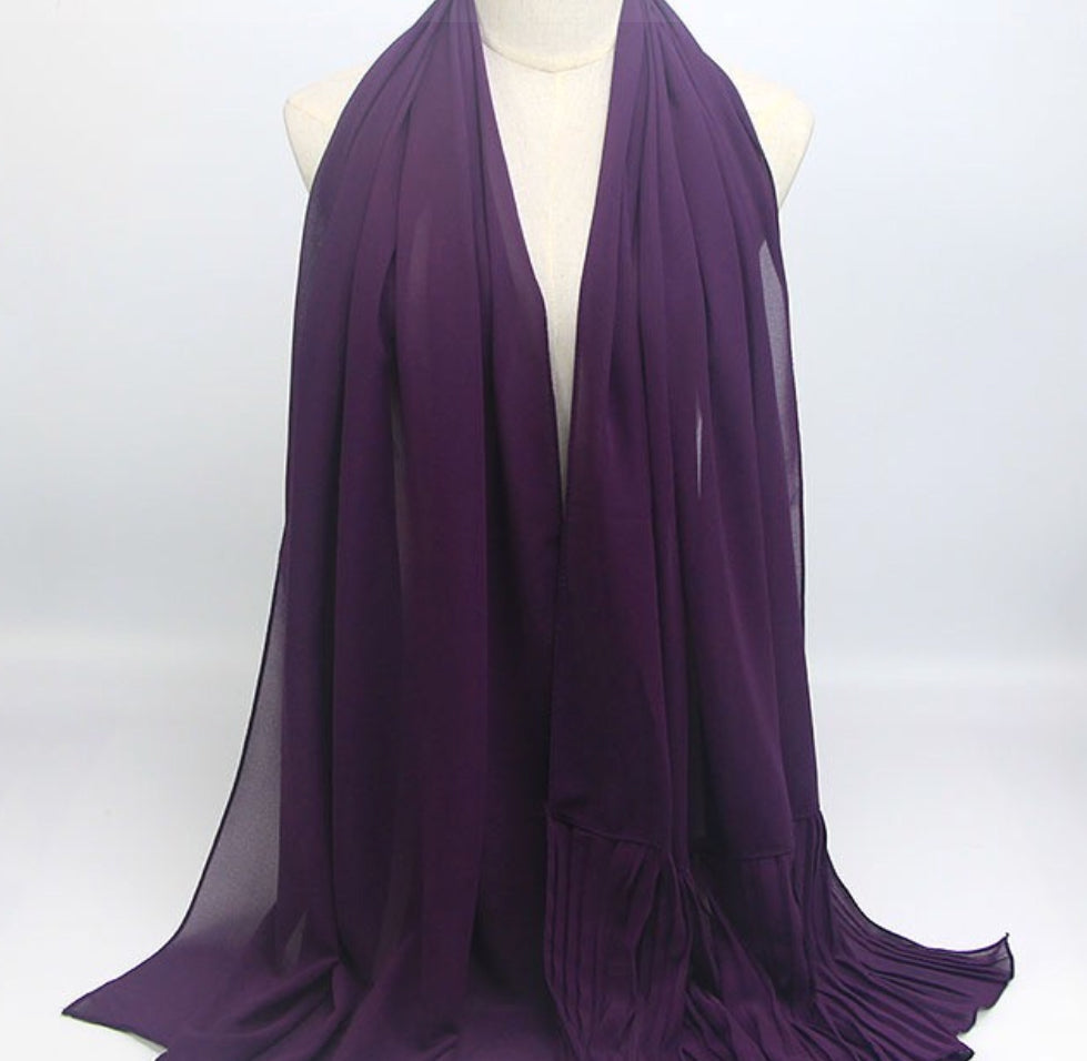 Hijab - Plain Purple
