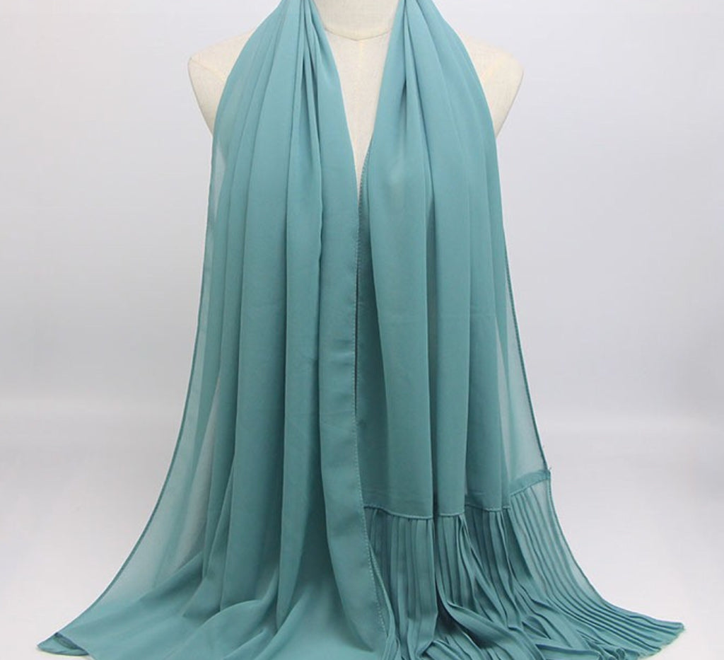 Hijab - Plain Teal