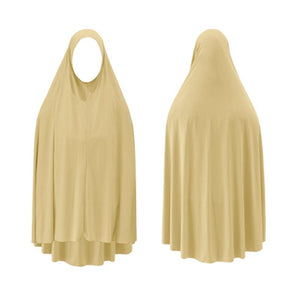 Jilbab - Plain Light Cream