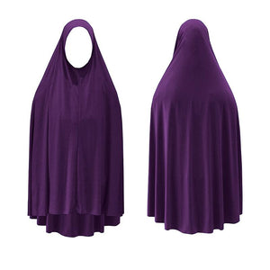 Jilbab - Plain Dark Purple