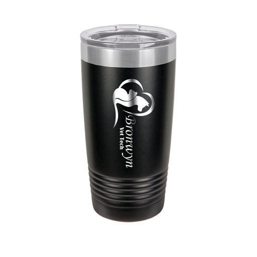 Animal Love Vet Tech Personalized Engraved Insulated Stainless Steel 20 oz Tumbler - Simply Custom Life