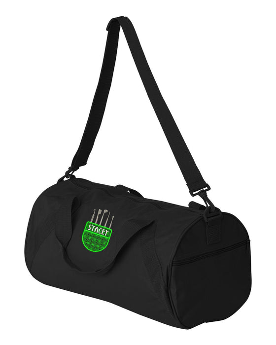 Dental Tools Pocket Personalized Embroidered Gym Bag Duffle - Simply Custom Life