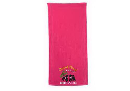 COPWDC Embroidered Towel - Simply Custom Life