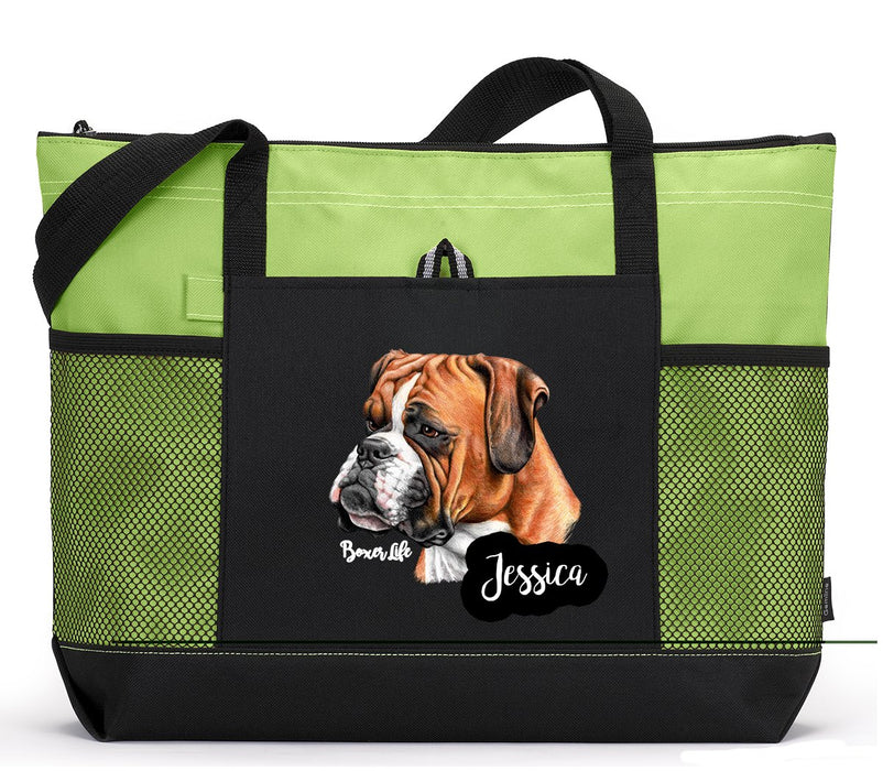Boxer Life Personalized Tote Bag - Simply Custom Life