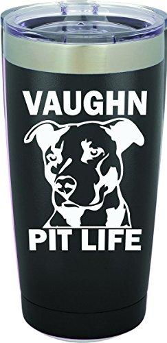 Pit Life Personalized Engraved Insulated Stainless Steel 20 oz Tumbler - Simply Custom Life