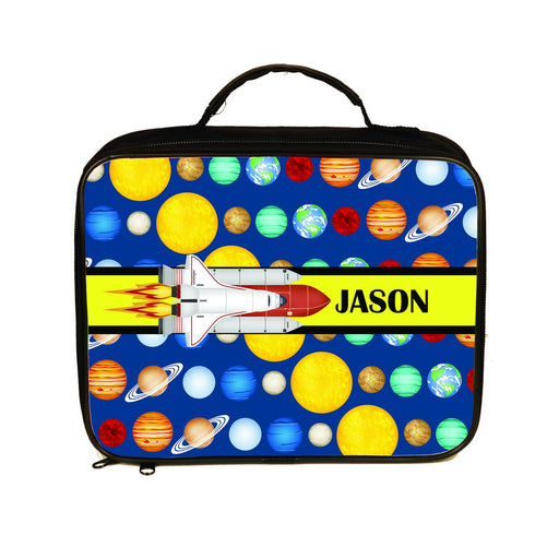 Space Shuttle Personalized Insulated Lunch Tote / Lunchbox - Simply Custom Life