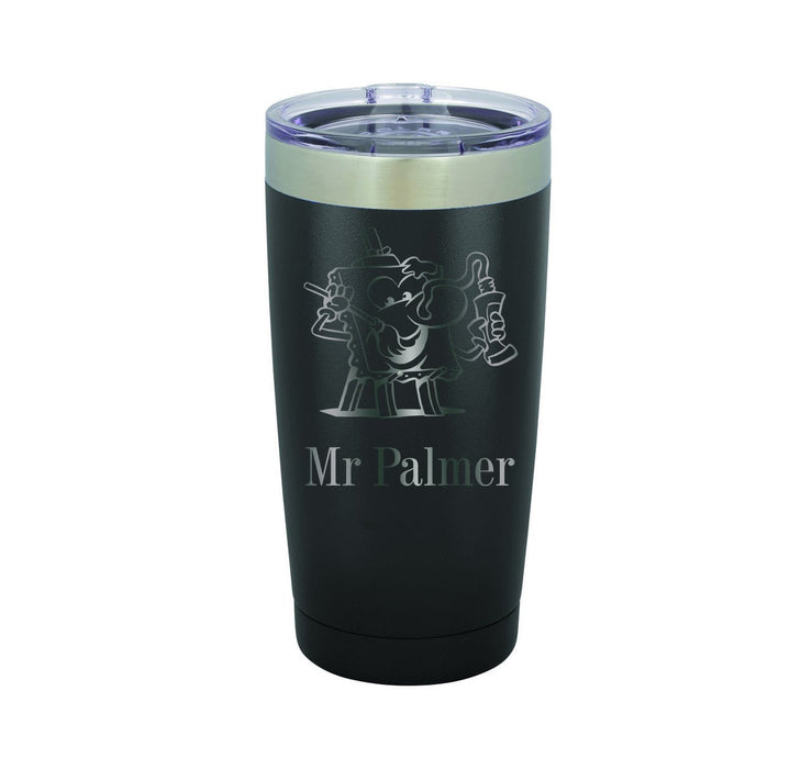 Artist Painting / Art Teacher Personalized Engraved Insulated Stainless Steel 20 oz Tumbler - Simply Custom Life