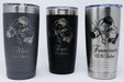 Hair Stylist 5 Personalized Engraved Insulated Stainless Steel 20 oz Tumbler - Simply Custom Life