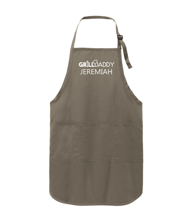 Grilldaddy Personalized Men's  BBQ Apron - Simply Custom Life