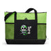 Surgical Doctor Skull Personalized Embroidered Zippered Tote Bag - Simply Custom Life