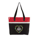 Floral Heart Monogram  Embroidered Personalized Small Tote - Simply Custom Life