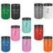 Heartbeat Soccer Lover Personalized Stainless Steel Vacuum Insulated Beverage Holder for Cans and Bottles - Simply Custom Life