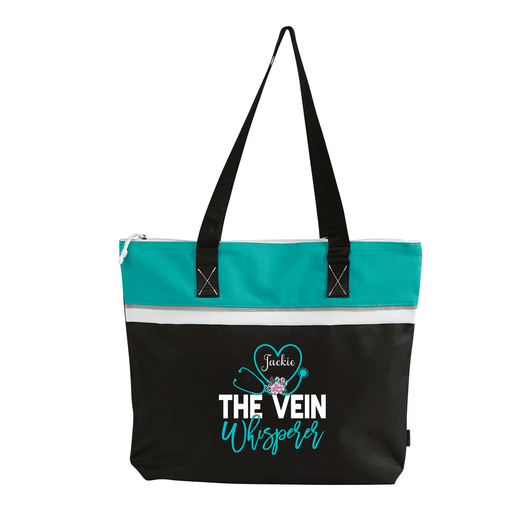 The Vein Whisperer Personalized Printed Small Beach Tote - Simply Custom Life