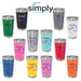 Essential Nurse Personalized UV Printed Insulated Stainless Steel 16 oz Tumbler - Simply Custom Life