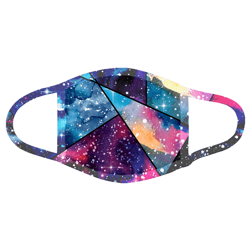 Custom Face Mask Galaxy, Personalization Optional, Washable, Reusable - Simply Custom Life