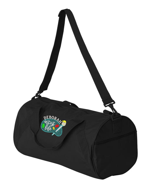 Artist Life Personalized Embroidered Duffel Bag - Simply Custom Life