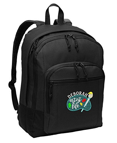 Artist Life Personalized Embroidered Backpack - Simply Custom Life