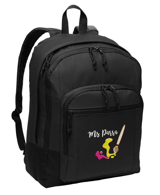 Artist Personalized Embroidered Backpack - Simply Custom Life