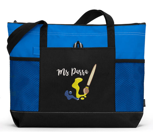 Artist Personalized Embroidered Tote - Simply Custom Life