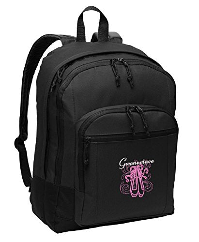 En Pointe Ballet Personalized Embroidered Backpack - Simply Custom Life