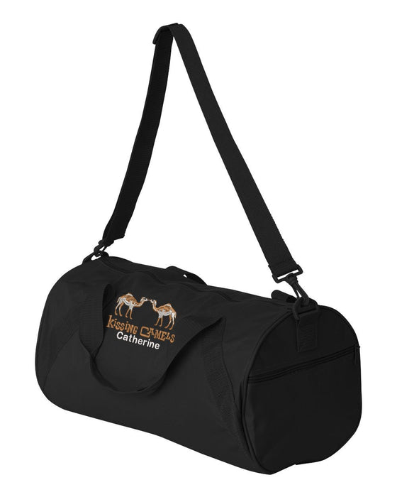 Kissing Camels Golf Club Personalized Embroidered Duffle Bag - Simply Custom Life