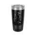 Heartbeat Realistic Heart Personalized Engraved 20 oz Insulated Travel Tumbler - Simply Custom Life