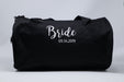 Bride with Wedding Date Personalized Embroidered Bridal Duffle Bag - Simply Custom Life