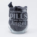 Slinging Pills to Pay the Bills Pharmacist / Pharmacy Tech Personalized Engraved Stemless Wine Glass - Simply Custom Life