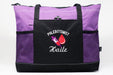 Phlebotomist Personalized Embroidered Tote Bag with Mesh Pockets - Simply Custom Life