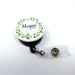 Spring Floral Personalized Retractable Badge Reel, ID Holder - Simply Custom Life