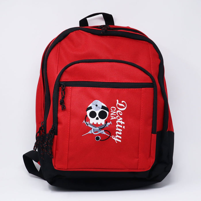 Surgical Doctor Skull Personalized Embroidered Backpack - Simply Custom Life