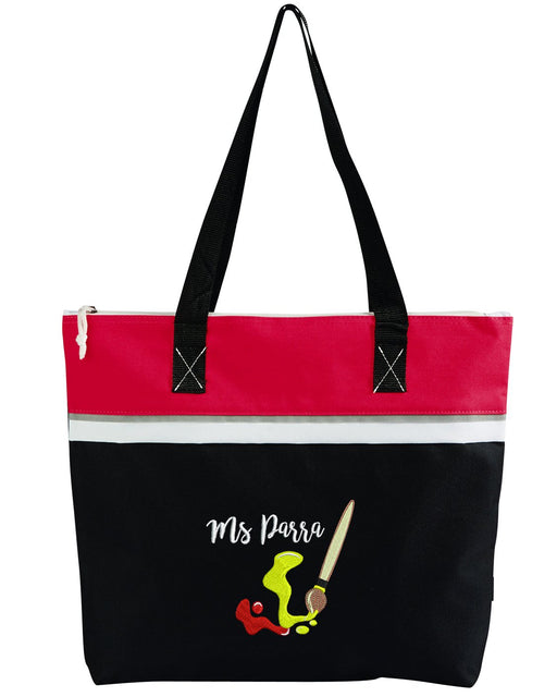 Artist Embroidered Personalized Small Crafting Tote - Simply Custom Life