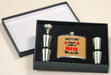 Safety First, Drink With A Nurse Personalized Flask Set with 4 shotglasses - Custom Printed - Simply Custom Life