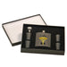 Caduceus Personalized Flask Set with 4 shotglasses - Custom Printed - Simply Custom Life