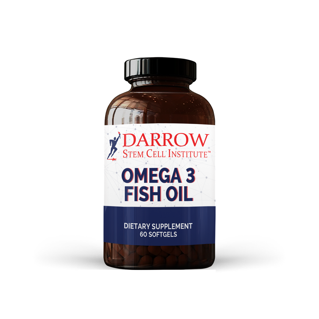 Omega Fish Oil 60 Softgels
