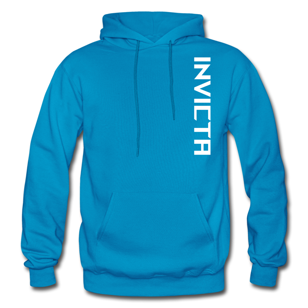 Big and Tall Hoodie - turquoise